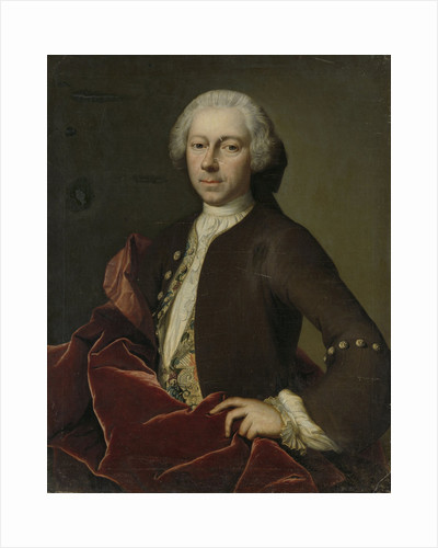 Portrait of Pieter Parker, Alderman, Burgomaster and Councilor of Goes by B. Monmorency