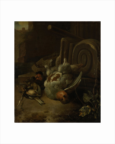 Dead Birds by Melchior d' Hondecoeter
