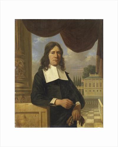 Portrait of Nicolaes Eichelberg (died 1699), Merchant in Haarlem, Husband of Helena van der Schalcke by Job Adriaensz Berckheyde