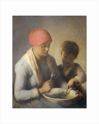 The Meal by Auguste Boulard