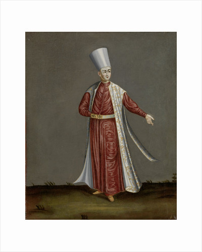 The Capon Aghassi, Chief of the White Eunuchs of the Sultan by Workshop of Jean Baptiste Vanmour