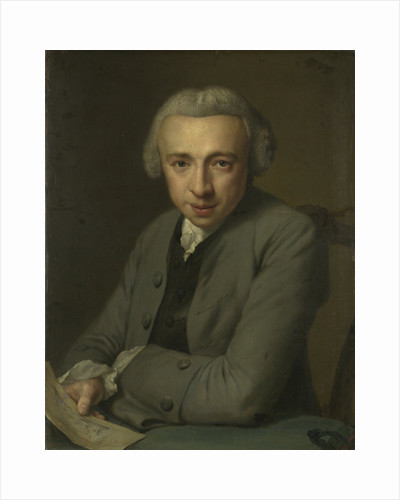 Portrait of Louis Métayer Phz., Goldsmith and Art Collector by George van der Mijn