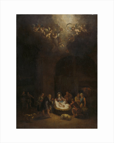 Adoration of the Shepherds by Pieter Bout