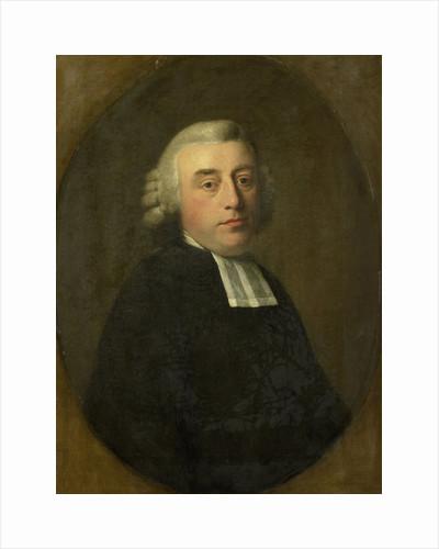 Portrait of Antonius Kuyper, Clergyman in Amsterdam by Johann Friedrich August Tischbein