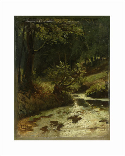 Brook in the Woods near Oosterbeek, The Netherlands by Matthijs Maris