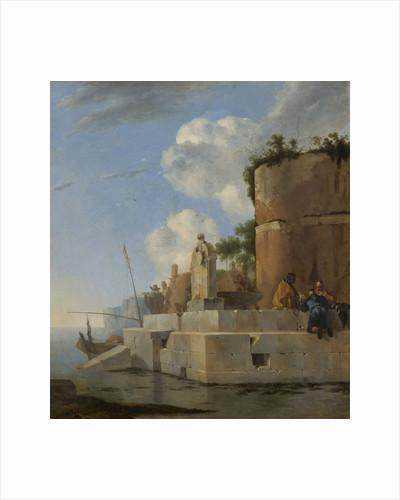A Coastal Ruin in Italy by Jan Asselijn