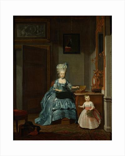 Susanna van Collen née Mogge and her daughter by Hermanus Numan