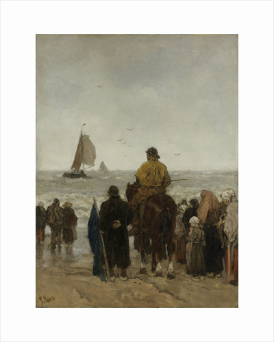 Arrival of the Boats by Jacob Maris