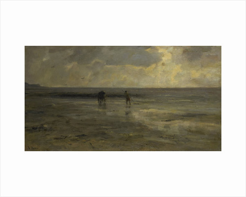 Beach at night by Jacob Maris