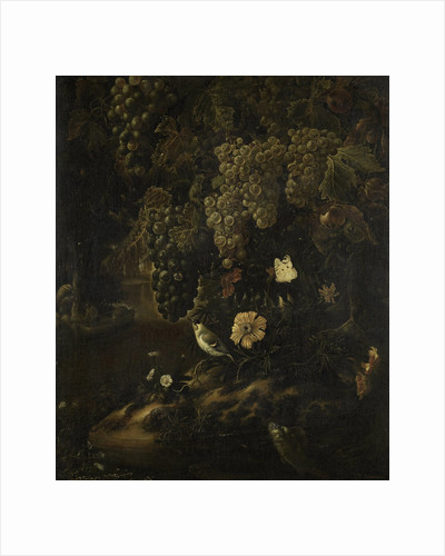 Grapes, Flowers and Animals by Isac Vromans