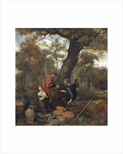 Erysichthon selling his daughter by Jan Havicksz. Steen