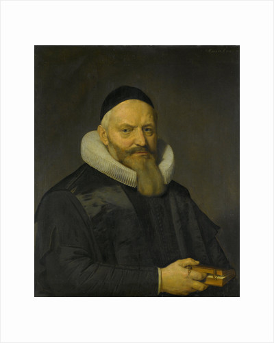 Portrait of Anthony de Wale, Professor of Theology in Leiden, The Netherlands by David Bailly