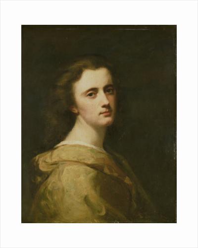 Portrait of Thérèse Schwartze, the Artist's Daughter, at 16 years of age by Johann Georg Schwartze