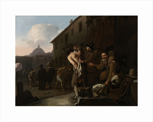 Clothing the Naked by Michael Sweerts