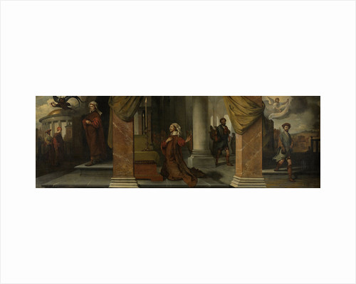 The Parable of the Pharisee and the Publican (Tax Collector) by Barent Fabritius