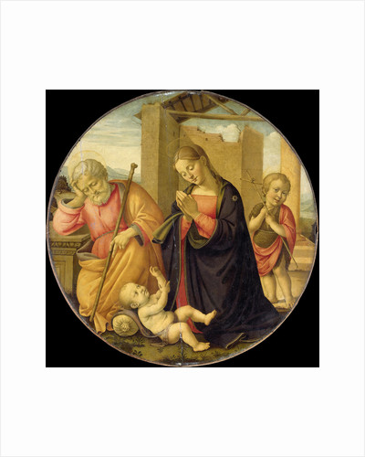 Worshipping the Christ Child by Meester Allegro