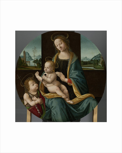 Virgin and Child with the Infant Saint John the Baptist by Master of the Conversazione di Santo Spirito