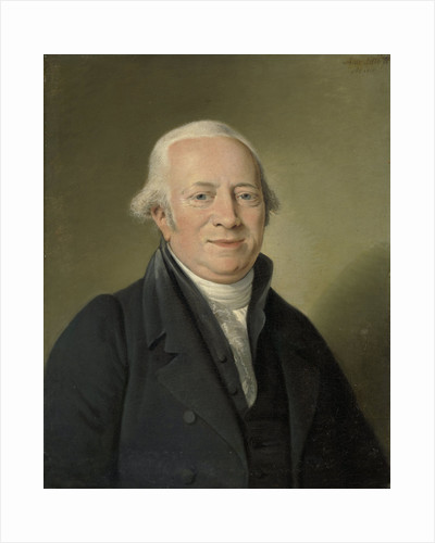 Portrait of Cornelis Sebille Roos, Art Dealer in Amsterdam and Inspector of the National Konst-Gallery and the Huis ten Bosch in The Hague by Adriaan de Lelie