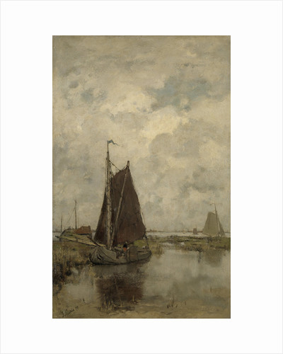 Ships in Dull Weather by Jacob Maris