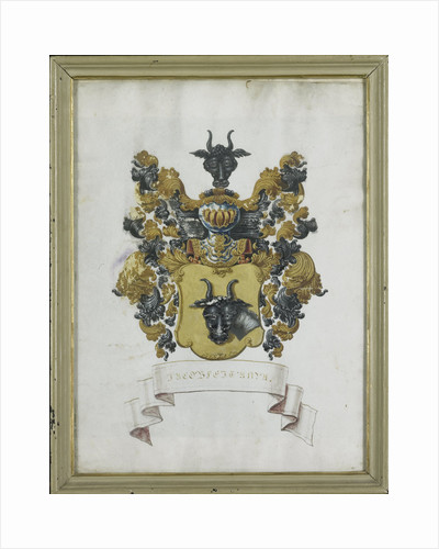 Coat of arms of Jacob Feitama II by Anonymous