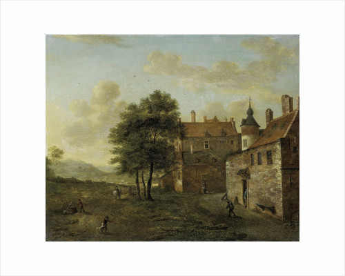 A Country House by Jan van der Heyden
