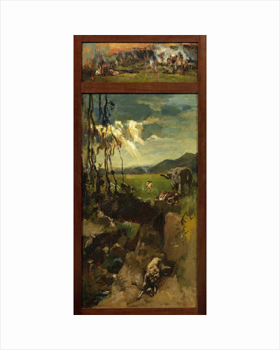The destruction of Sodom and Gomorrah by Willem de Zwart