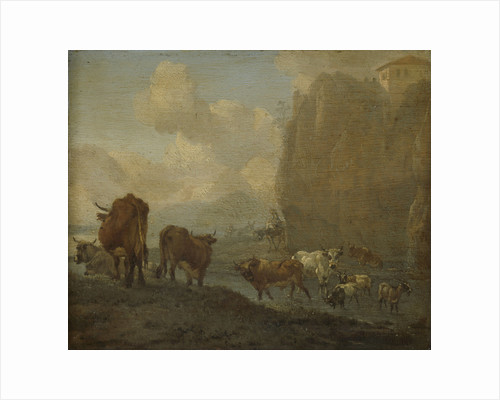 Livestock by a River by Willem Romeyn