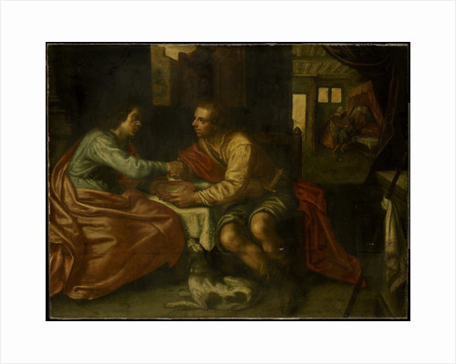 Esau selling his birthright by Anonymous