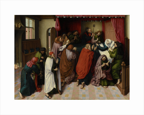 The Death of the Virgin by Master of the Amsterdam Death of the Virgin