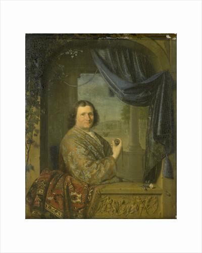 Portrait of a Man with a Watch by Pieter Cornelisz. van Slingelandt
