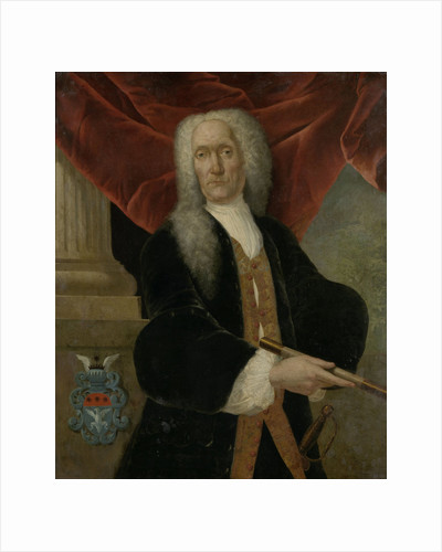 Portrait of Abraham Patras, Governor-General of the Dutch East India Company by Theodorus Justinus Rheen