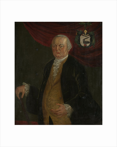 Portrait of Reinier de Klerk, Governor-General of the Dutch East India Company by Franciscus Josephus Fricot