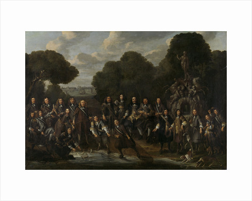 Allegory of the Flowering of the Dutch Fishing-industry after the Second Anglo-Dutch War by Willem Eversdijck
