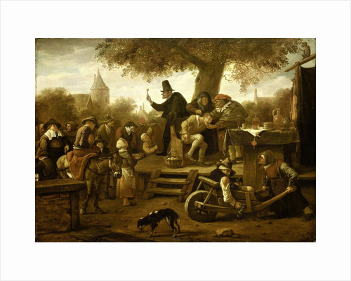 The quack by Jan Havicksz. Steen