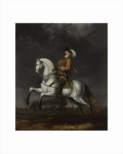 Portrait of Johan Wolfert van Brederode, formerly entitled Equestrian Portrait of Godard Adriaan van Reede van Amerongen by Jan van Rossum