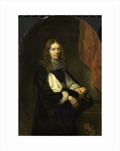 Portrait of Pieter de Graeff, lord of Zuid-Polsbroek, Purmerland, and Ilpendam. Alderman of Amsterdam by Caspar Netscher