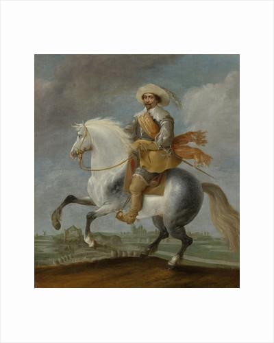 Prince Frederick Henry on Horseback in front of the s Hertogenbosch Fortress, 1629, The Netherlands by Pauwels van Hillegaert
