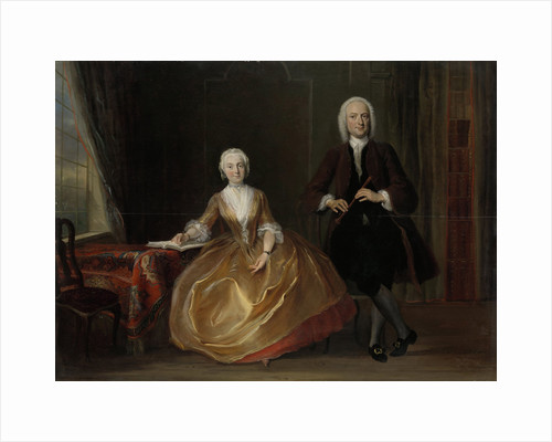 A Couple Making Music by Cornelis Troost