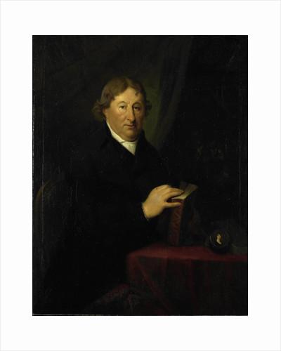 Portrait of Gerrit van der Pot, Lord of Groeneveld, Art Collector in Rotterdam by Johan Bernard Scheffer