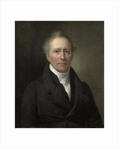 Portrait of Daniel Francis Schas, from 1814 to 1820 Member of the Board of Commerce for the Colonies by Alexandre Jean Dubois Drahonet