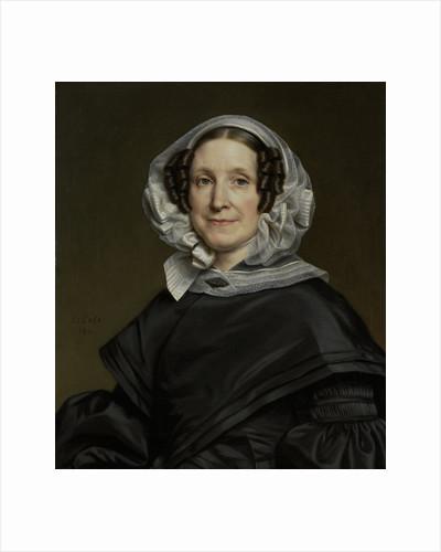 Portrait of Aryna van der Pot, 1786-1850, Wife of N. J. A. C. Hoffmann by Cornelis Cels