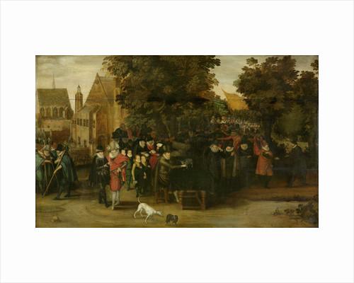 Satirical Show on Dutch Politics around 1619 by Anonymous