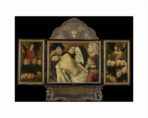 Memorial Triptych, formerly called the Gertz Memorial Triptych by Anonymous
