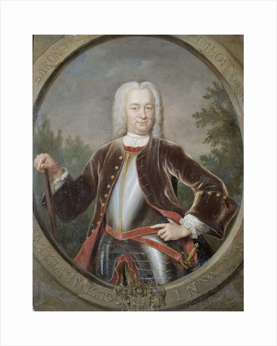 Portrait of Gustaaf Willem, Baron van Imhoff, Governor-General of the Dutch East India Company by Jan Maurits Quinkhard