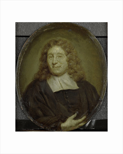 Portrait of Petrus Schaak, Clergyman and Scholar in Amsterdam by Jan Maurits Quinkhard