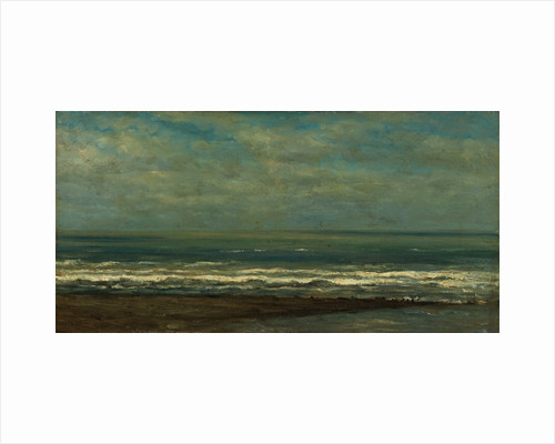 Seascape at Heyst by Willem Roelofs I