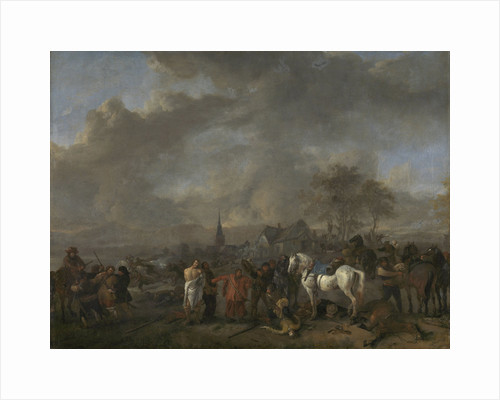 Victorious Peasants by Philips Wouwerman