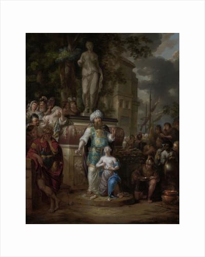 Sacrifice of Iphigenia by Arnold Houbraken