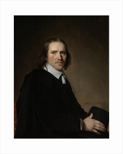 Portrait of Dirck, Johannes or Jacobus Wallis by Johannes Cornelisz. Verspronck