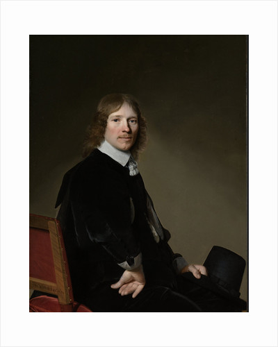 Portrait of Eduard Wallis by Johannes Cornelisz. Verspronck